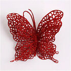 1PC Christmas Tree Hollow Plastic Butterfly Hanging House Decorations Ornaments