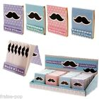 SET de 6 LIMES à ONGLES motif MOUSTACHE Lime à Ongle NAIL ART File KAWAII