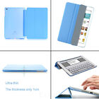 Genuine Ultra Thin Magnetic Smart Cover + Back Case For iPad 5/6 Air/Air 2