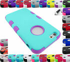 FOR APPLE IPHONE 6 6S PLUS SHOCK PROOF TUFF ARMOR DUAL LAYER CASE COVER+STYLUS