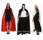 Hooded Cape Halloween Cloak Vampire Halloween Fancy Dress Costume Hood Pagan