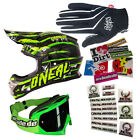 ONEAL 14 Casco Da Motocross 3series Crawler Mascherina
