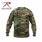 Rothco Kanye West Yeezy Season 2 Woodland Army Military Camo Long Sleeve Shirt