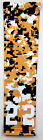 NEW! Custom Number ADULT LARGE Sports Arm Sleeve DIGITAL CAMO GOLD BLACK WHITE
