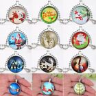 Unique Animal Tree Necklace Stainless Steel Chain Family Friends Christmas Gifts