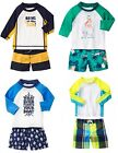 Gymboree Swim Baby Boy Rash Guard Trunks Set NWT 3 6 12 18 Retail Swimwear