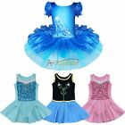 Christmas Girl Princess Fancy Ballet Dance Tutu Dress Leotard Dancewear Costume