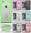 For Apple iPhone 6 6S Plus 5.5 Tuff TPU Gel GUMMY Hard Skin Case Cover Accessory
