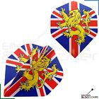 Metronic Poly England Flag Lion Dart Flights Standard Strong 1,3,5,10,20 Sets