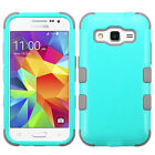 Samsung Galaxy Prevail LTE IMPACT TUFF HYBRID Protector Skin Cover +Screen Guard