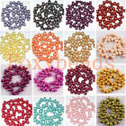 Oval Fresh Water Pearl Top Drilled Loose Freeform DIY Beads Various Colors 8-9mm