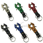 Aluminum Tuff Hook Carabiner Lock Clip Snap Screw Keychain Camping Outdoor
