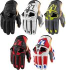 Icon Hypersport Short Street Motorcycle Riding Gloves All Sizes All Colors