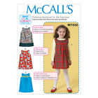 McCall's 7232 Beginner Sewing Pattern to MAKE Pinafore or Sleeveless Dress