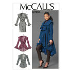 McCall's 7256 Sewing Pattern to MAKE Stylish Coats & Jacket w/Variations