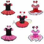 Minnie Mouse Girls Kid Birthday Party Christmas Costume Fancy Tutu Dress H8-134