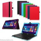 Leather Case Cover Stylus Holder for Nextbook Flexx 10 Windows 8.1 Tablet 10.1