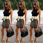 Womens Sexy Dress Ladies Bodycon Cocktail Party Evening Dress Size 6 - 14