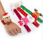 Hot Christmas Santa Wristband Bracelet Bangle Hand Ring Circle Xmas Party Gifts