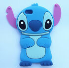 Cartoon 3D Stitch Cute Lovely Soft Silicone Cover Case For Mobile Phones 1#
