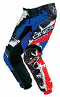 Oneal YOUTH 2016 MX ATV Motocross Shocker Blue/Red Riding Pants 5-14