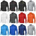 New Men Athletic Apparel Long Sleeves Skin Tights Compression Under Layer Top