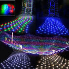 96 204 672 Multi-Color LED Bulbs Mesh Net String Party Twinkle Decoration Lights