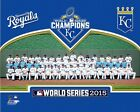 Kansas City Royals 2015 World Series Formal Team Photo SL096 (Select Size)
