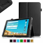 Leather Case Cover LG G Pad II X 10.1 inch (4G LTE AT&T V930) Auto Sleep/Wake