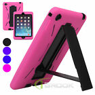 Heavy Duty Hybrid Rugged Shockproof Hard Case Cover Stand for Apple iPad Mini 4