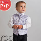 Boys Pageboy Outfits Black Lilac Suit Size Age 0 Months - 12 Years