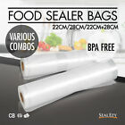 VACUUM FOOD SEALER ROLLS SAVER SEAL BAG STORAGE COMMERCIAL HEAT GRADE