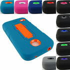 FOR HUAWEI UNION Y538 RUGGED HYBRID ARMOR IMPACT CASE COVER ACCESSORY+STYLUS