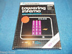 NEW ATARI 2600 TOWERING INFERNO GAME IN FACTORY SEALED BOX 7800 BY VIDTEC