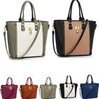 Ladies Women's Designer Fashion Quality Tote Bags Padlock Handbags Bag Handbag