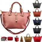 SMALL  Women's Fashion Quality Faux Leather Designer Celebrity Tote Bag Handbag