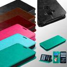 For LG G Vista 2 Hybrid PU Leather Flip Stand Case Wallet Credit Card Cover