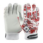New Demarini Digi Camo Mens Adult Batting Gloves 1 Pair Scarlet Red WTD6104