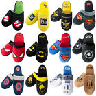 Rocky Balboa Spiderman Batman Superman Star Wars Hausschuhe Pantoffeln 38-45 neu