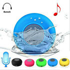 Waterproof Suction Wireless Bluetooth Speaker Stereo Shower Car For Phone Tablet