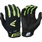 New 2016 Easton HF7 Womens Fastpitch Batting Gloves Black/Optic A121887  1 Pair