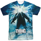 The Thing 1982 Sci-Fi Horror Alien Movie Film Poster Adult 2-Sided Print T-Shirt