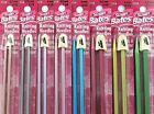 "Susan Bates® Silvalume® SP Knitting Needles Aluminum Single Point 10"" 14"" #0-#15"