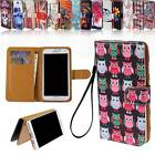 Flip Wallet Card Stand Leather Magnetic Case Cover For Various swipe SmartPhones