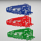 Large Steam Locomotive / Train Die Cuts - Assorted Colours in sets of 6