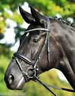 Busse Grand Prix Flash Snaffle Crystal Dressage Bridle Soft-Touch Headpiece