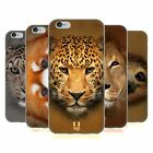 HEAD CASE DESIGNS TIERGESICHTER 2 SOFT GEL HÜLLE FÜR APPLE iPHONE HANDYS