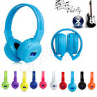 Wireless Bluetooth Foldable Stereo Headphone Earphone Headset For iPhone Samsung