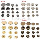 Heavy duty Popper Snap Fasteners Press Stud Sewing Rivet Leather Craft Cloth UK