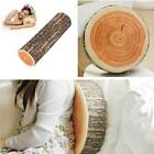 Personality Natural Wood Log Chair Cushion Pillows Cushion Home Office Sofa - CB